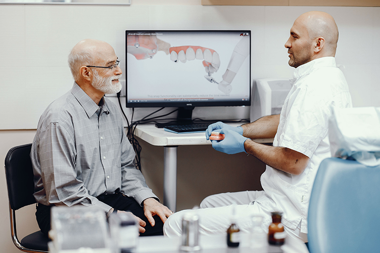 Pros and Cons Dental Implant for Seniors 1